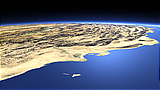 The Zagros Mountains and the Persian Gulf coast